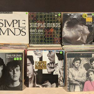 Simple Minds//Tears For Fears//PRETTY IN PINK/LP